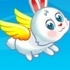 Flying Easter Bunny
